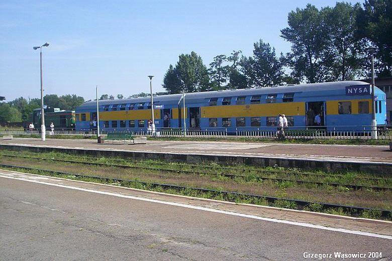 Pociąg osobowy z Opola