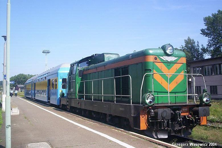 Pociąg osobowy do Opola